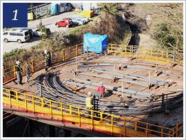 深礎杭工事に必要な段取りと手順の参考画像1
