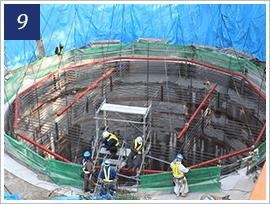 深礎杭工事に必要な段取りと手順の参考画像9